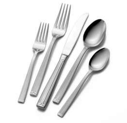 Meridian Satin 5 Piece Placesetting