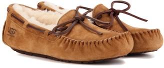 UGG Dakota shearling-lined suede moccasins