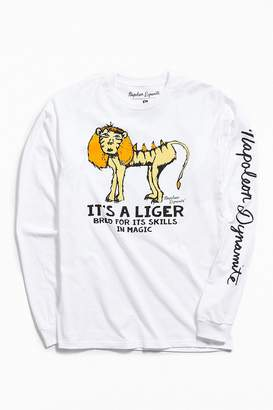 Urban Outfitters Napoleon Dynamite Liger Long Sleeve Tee
