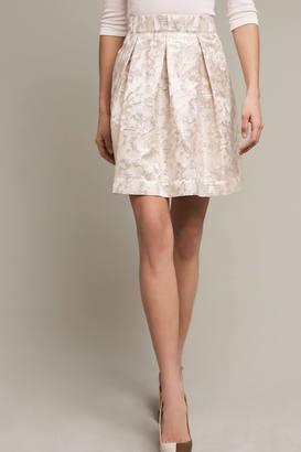 Maeve Rust Garden Skirt $118 thestylecure.com