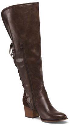 Knee High Western Inspired Boots