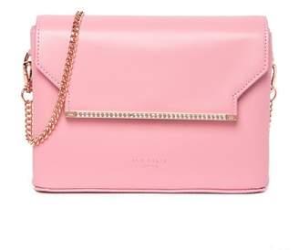 38ee2eed222a0a Ted Baker Moniica Crystal Bar Leather Crossbody Bag