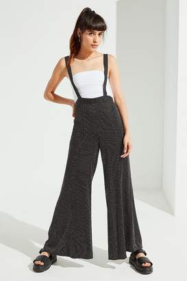 Urban Outfitters Judy Polka Dot Suspender Pant