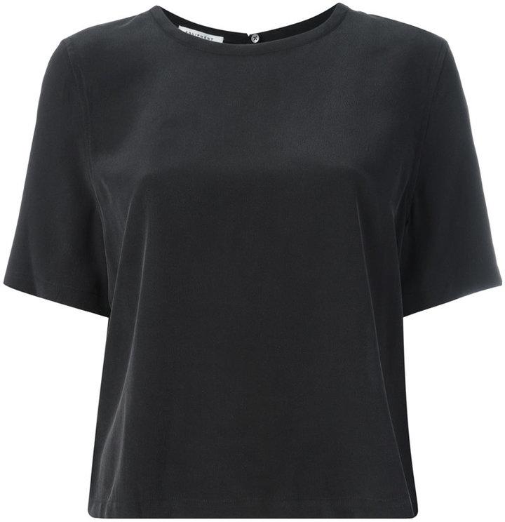 EquipmentEquipment back slit T-shirt