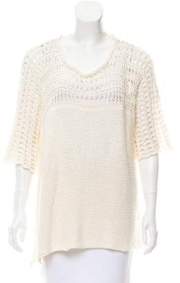 Calypso Short Sleeve Knit Top