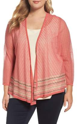Nic+Zoe Rose Quartz Four-Way Convertible Cardigan