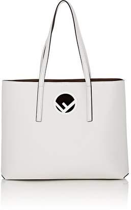 Fendi Women's Logo Shopper Leather Tote Bag