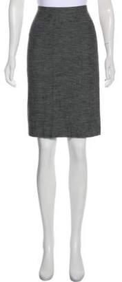 Alberta Ferretti Knee-Length Woven Skirt Grey Knee-Length Woven Skirt