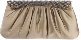 Judith Leiber Crystal-Embellished Satin Evening Bag $225 thestylecure.com