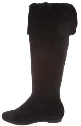 Calvin Klein Suede Over-The-Knee Boots