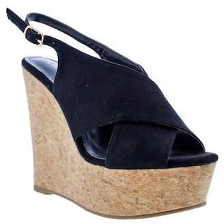 Liliana Anneka Slingback Wedge Platform Sandal