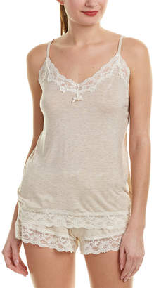 Flora Nikrooz Knit Camisole With Lace