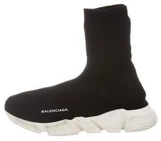 Balenciaga 2017 High-Top Speed Trainer Sneakers