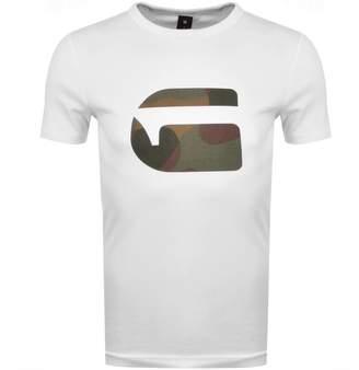 G Star Raw Mai Slim Fit T Shirt White