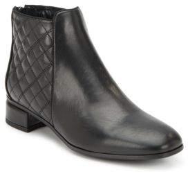 Laurel Leather Ankle Boots $495 thestylecure.com