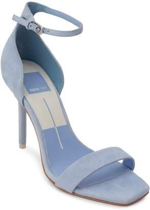 Dolce Vita Women's Halo Suede High-Heel Ankle Strap Sandals