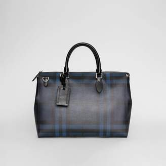 Burberry Large London Check Briefcase