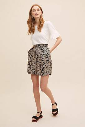 Seen Worn Kept Calliope Snake-Printed Shorts
