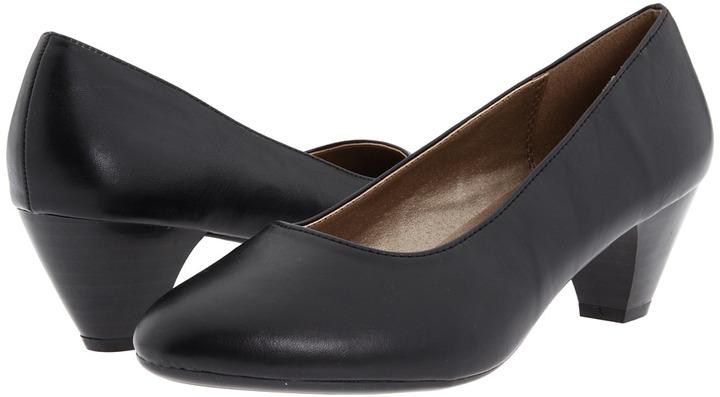 SoftStyle Soft Style - Guiliana (Black Vitello) - Footwear
