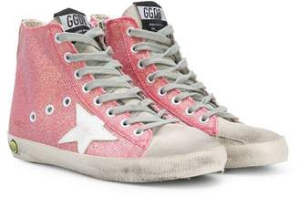 Golden Goose Kids Superstar lace-up sneakers
