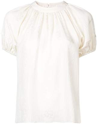 Co embroidered motif blouse