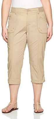 Lee Women's Plus-Size Relaxed Fit Cordelia Capri Pant