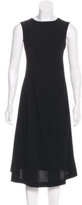 Rene Lezard Sleeveless Midi Dress