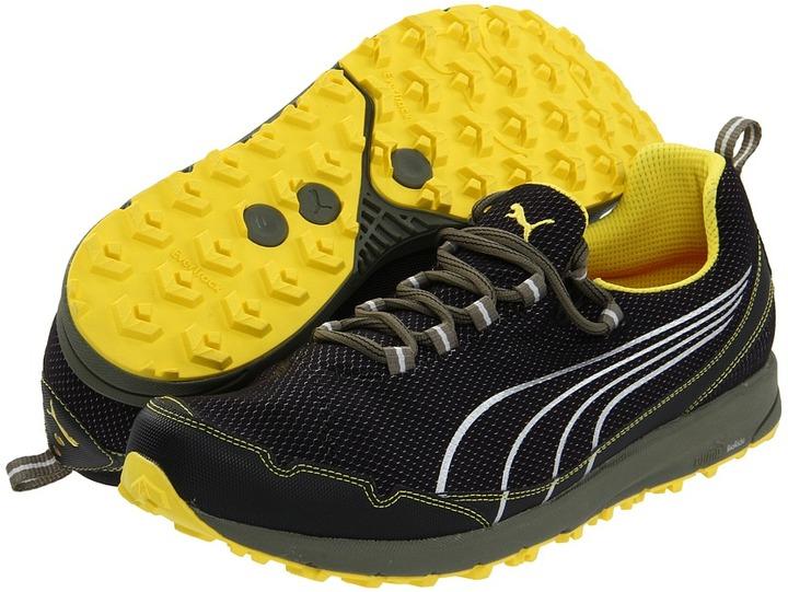 Puma Faas 250 Trail (Black/Buttercup/Silver Metallic) - Footwear