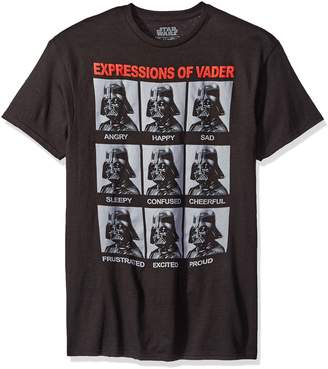 Star Wars Mad Engine Expressions of Vader Men's T-Shirt