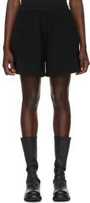 Rick Owens Black Cashmere Boxer Shorts