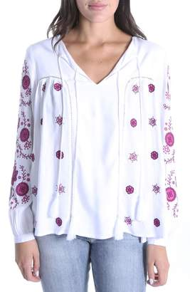 KUT from the Kloth Prairie Embroidered Top