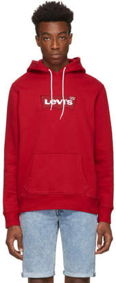 Levi's Levis Red Modern Hoodie