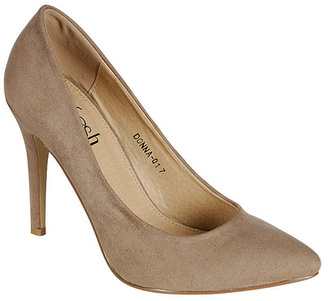 Taupe Pointed Toe Gaby Pump $39.99 thestylecure.com