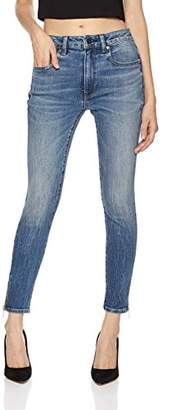 3.1 Phillip Lim HALE Women's Lily Stunner Mid Rise Skinny Cropped Jean with Zipper Leg Closure Maisie
