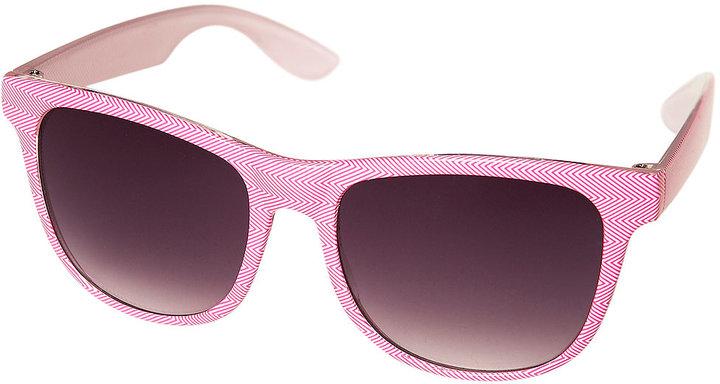Pink Flat Top Sunglasses
