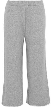 Simon Miller Canal French Cotton-Terry Track Pants