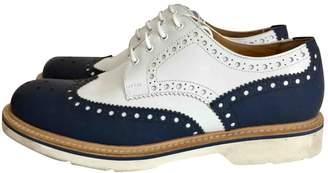 Giorgio Armani Leather lace ups