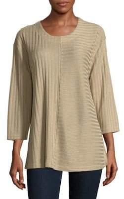 Context Ribbed Roundneck Sweater