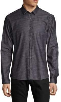 HUGO BOSS Slim-Fit Button-Down Shirt