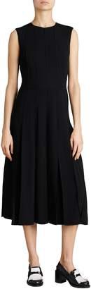 Burberry Aria Pleated Midi Dress
