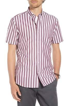1901 Ivy Trim Fit Stripe Sport Shirt