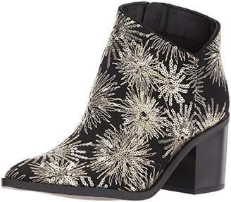 Kenneth Cole Reaction Women's Cue The Music Notch Western Style Stars Ankle Bootie