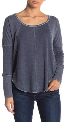 Lucky Brand Exposed Seam Thermal Sweater
