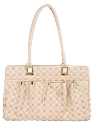 Judith Leiber Leather Shoulder Bag