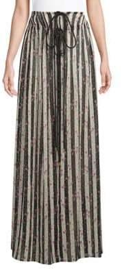 Lanvin Jupe Lounge Floor-Length Skirt