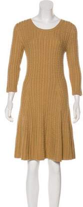 Issa Wool Cable Knit Dress