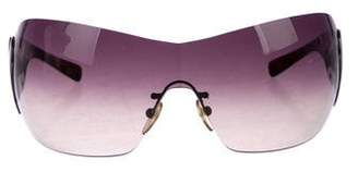 24bb22b8824 Pre-Owned at TheRealReal · Prada Gradient Shield Sunglasses