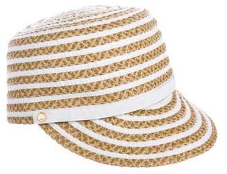 Eric Javits Striped Straw Hat