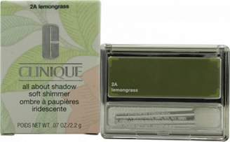 Clinique All About Shadow Eyeshadow Soft Matte 2.2G - Lemon Grass