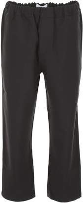 Oamc Cropped Wool Trousers